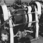 Foredeck winch in 1975