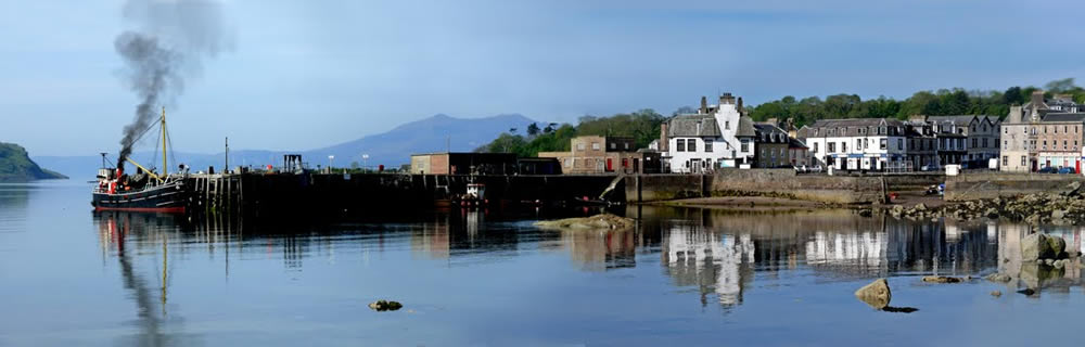 The Puffer at Millport