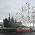 Tall ship outside New Transport museum 7
