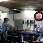 The puffer's galley