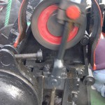 The Steam Windlass on the foredeck