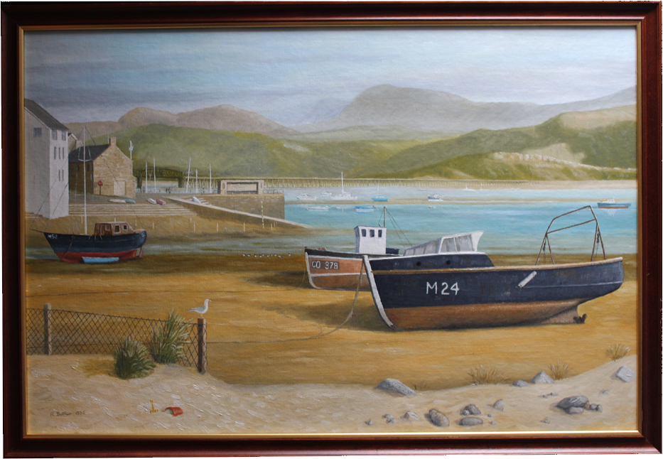 'By Cumbrian Waters' by R. Butler
