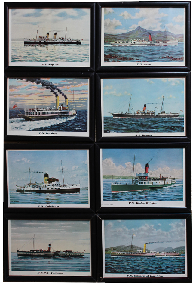 Steamer Picture Set